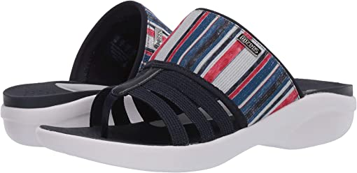 Navy/Red/White Vacation Stripe
