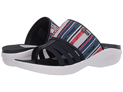 Bzees Chill (Navy/Red/White Vacation Stripe) Women