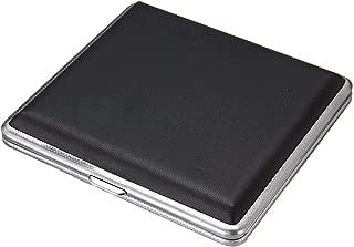 Cigarette case Aluminum 20 Cigarette Case Storage Cigarette Holder Double Side Flip Open Cigarette Case Storage Box Container Gift