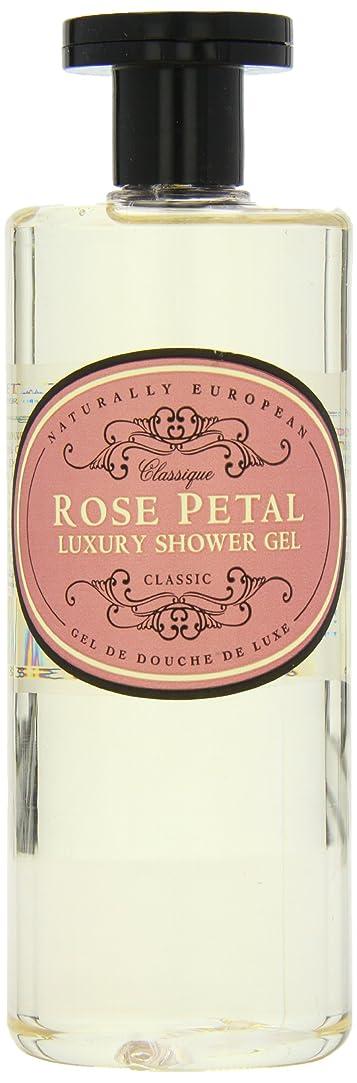 辛な法律により超越するNaturally European Rose Petal Luxury Refreshing Shower Gel 500ml