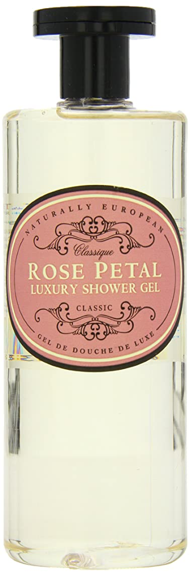 エロチック出版サラミNaturally European Rose Petal Luxury Refreshing Shower Gel 500ml