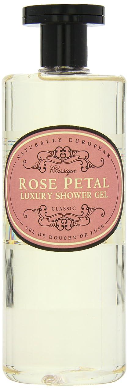 落胆するどちらかアノイNaturally European Rose Petal Luxury Refreshing Shower Gel 500ml