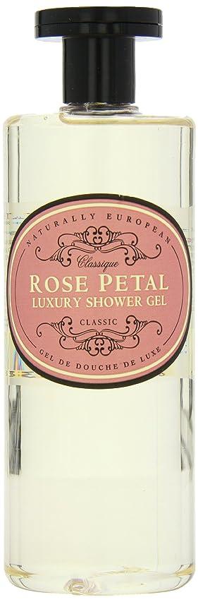 油無意味くしゃくしゃNaturally European Rose Petal Luxury Refreshing Shower Gel 500ml
