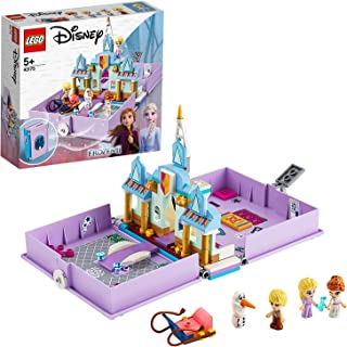 LEGO Disney Princess 43175 Anna and Elsa's Storybook Adventures Building Kit (133 Pieces)