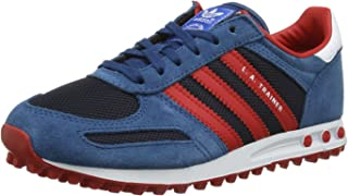 scarpe adidas trainer azzurre