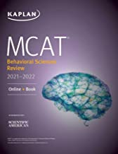 MCAT Behavioral Sciences Review 2021-2022: Online + Book (Kaplan Test Prep) (English Edition)