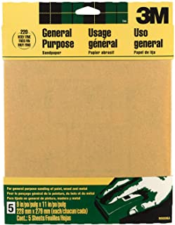 3M General Purpose Aluminum Obyide Sandpaper, 9 in. by 11 in.