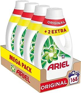 Ariel Vloeibaar wasmiddel voor wasmachine, 168 wasbeurten (pak 4 x 42), origineel