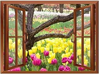 tulip mural
