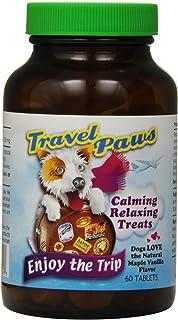 Lidtke Technologies Travel Paws L-Tryptophan Pet Relaxant Tablets, 60 Tablets