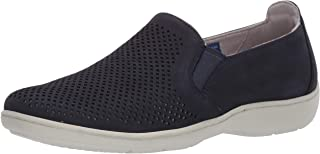 Aravon womens Lia Slipon Sneaker, Blue, 6 US