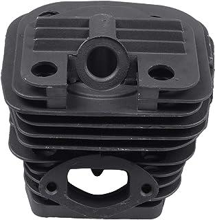 TANOU 1 Conjunto DiáMetro 45Mm Motosierra Cilindro y Conjunto de PistóN Adecuado 52 52Cc Motosierra Repuestos para Gasolina/Aceite Motosierra