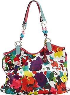 ESSENZA Flower Salad Beach Bag Shopper - multi - XXL