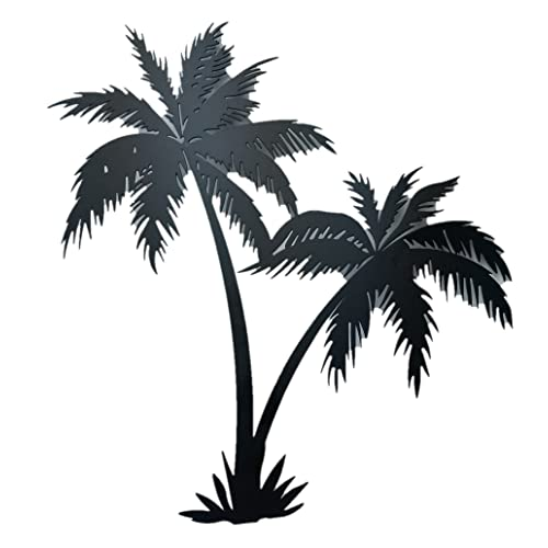 Tropical Beach With Palm Trees Home Decor Beach Metal Light Switch Plate Cover