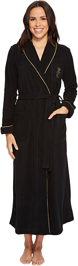 LAUREN Ralph Lauren - Folded Fleece Long Robe