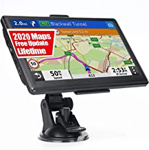 GPS Navigation for Car Truck RV, Latest 2020 Map 7 Inch OHREX GPS Navigator System, GPS for Truck Drivers Commercial, Free Lifetime Map Update, Spoken Turn-by-Turn Direction, Driver Alerts