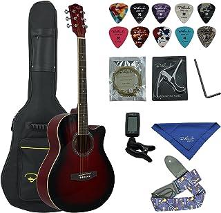 گیتار Acoustic Acaric Bailando 40 Inch Cutaway، Redburst