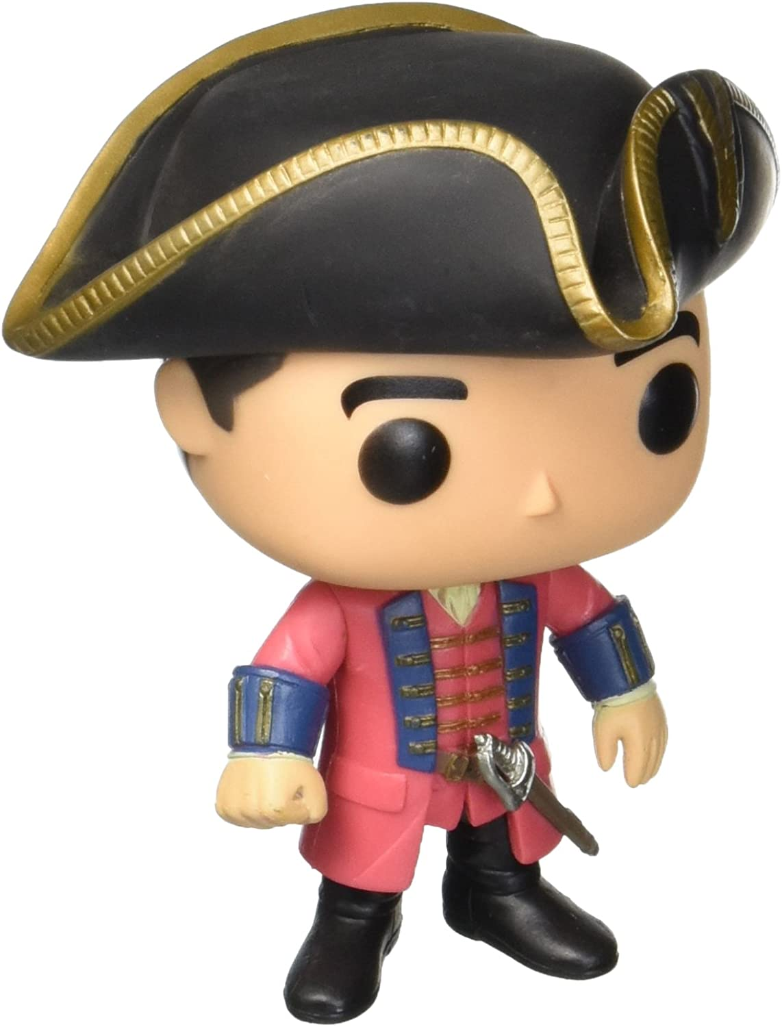 Pop Vinyl Toy  Outlander TV Series  Black Jack Randall 3.75 Inch Collectable Action Figurellectable