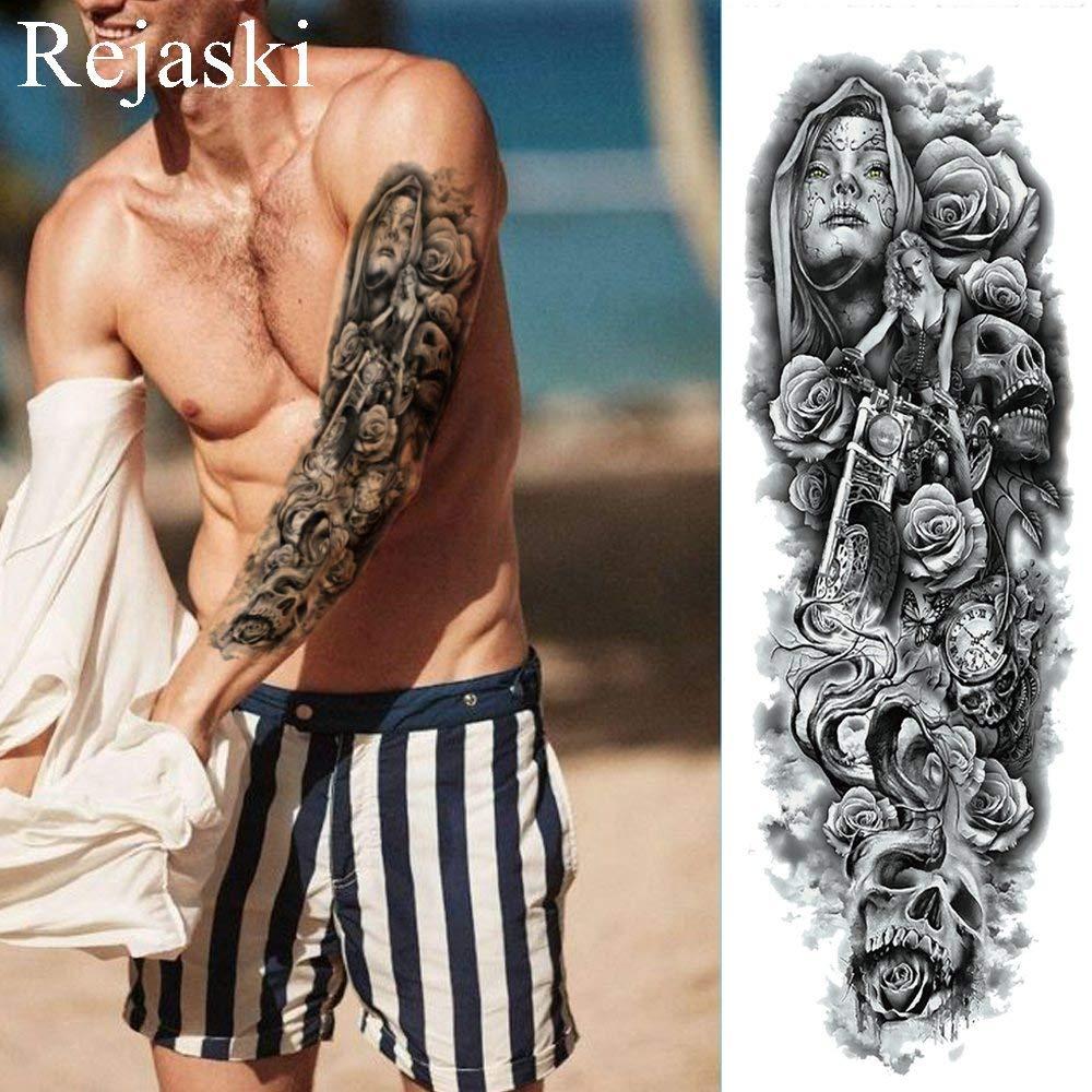 Arm tattoos uhr männer Tattoo Unterarm