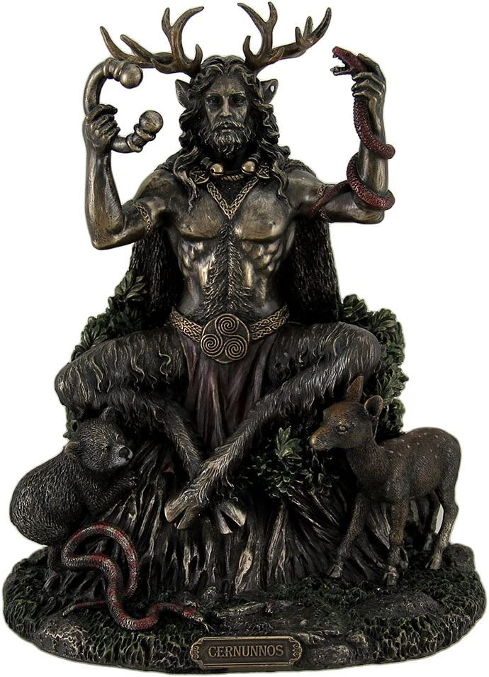 Veronese All items in the store Design Resin Statues Cernunnos Ani God Luxury Horned of Celtic