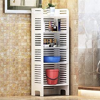 Caishuirong Douche Organisateur 5 étagères Armoire de Rangement Armoire Toilettes étagère Organisateur Salle de Bain Planc...