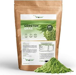 Gerstengras – 1100 g (1,1 kg) – Rückstandskontrolliert – Junges..