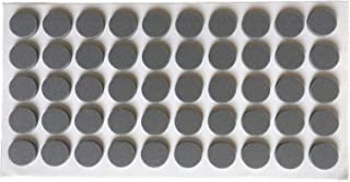 50 pc Self-Adhesive Furniture Pads Kitchen Cupboard Door Pads Sound Dampening Door Buffers Made of Soft Eva Rubber Soft Quiet Drawer Close Anti-Slam Cushion Rubber feet Pads 10 mm Diameter Grey