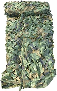 Mitef Heavy-Duty Woodland Camo Netting 210D Camouflage Net for Camping Hunting Blinds Shooting Military Decoration Sunshade