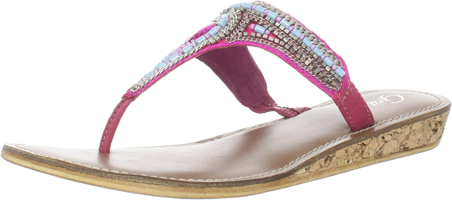 Grazie Women's Topaz Wedge Sandal