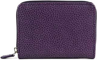 Laurige France Small Women's Leather Wallet Violet