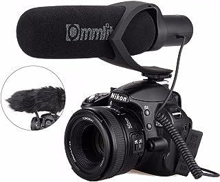 EACHSHOT CoMica Electrit Super-Cardioid Directional Condenser Shotgun Video Microphone, EA700837