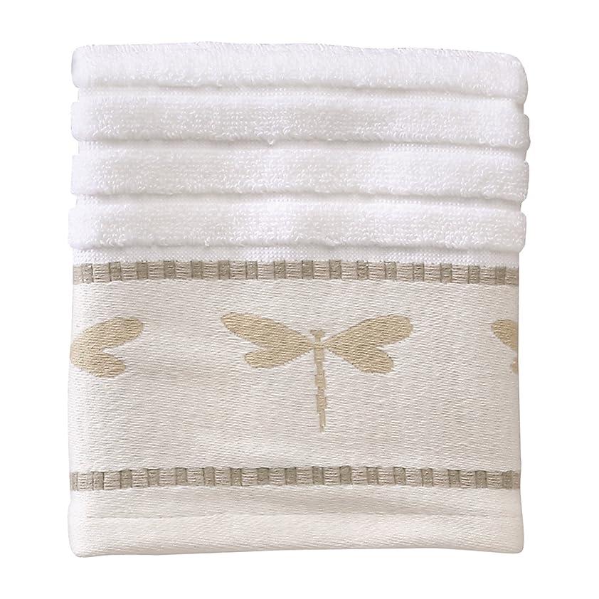 銅ベジタリアンそれに応じてクリエイティブバス製品Dragonfly Jacquard Wash Cloth