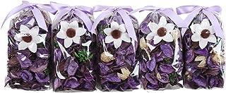 Qingbei Rina Purple Lavender Potpourri Bags Light Scent Fresh Perfume Sachet Home Fragrane Dried Flower Petal Diffuser for...
