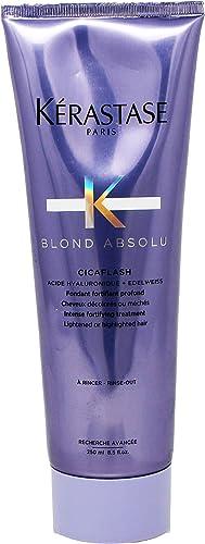 Kerastase - Gamme Blond Absolu - Cicaflash, pouvoir réparateur d'un masque allié au résultat léger d'un après-shampoo...