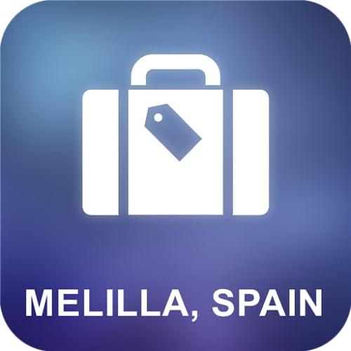 Melilla, España Offline Mapa