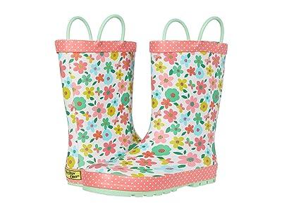 Western Chief Kids Charming Garden Rain Boots (Toddler/Little Kid/Big Kid) (Ivory) Girl