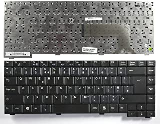 Keyboards4Laptops UK Layout Black Replacement Laptop Keyboard Compatible with EI Systems E-System 3090