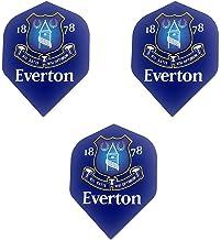 Everton Football Club Premier League Soccer Strong Dart Flights (3 Sets - 9 Flights)