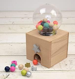 kiko+  gatchagatcha(キコ ガチャガチャ) 本体 木のおもちゃ 出産祝いや誕生日プレゼントに!