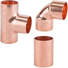 flowflex p902.21/macho adaptador de hierro Set de 10/piezas 22/mm x 3//4/de pulgada Cobre//lat/ón