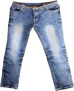 JHX Men Straight Jeans Blue