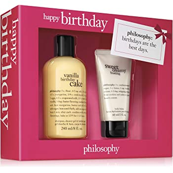 philosophy happy birthday gifting set, 2-piece kit for wz