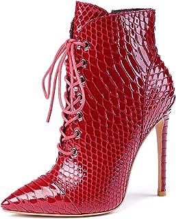 EDEFS Stivali Donna,Stivali Alti Donna,Stivali Classici Donna,Scarpe da donna 12CM