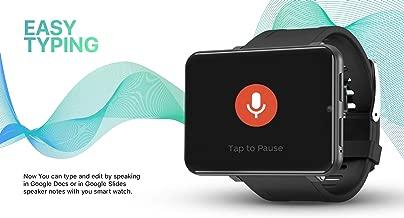 Bond 2.86 Inch Screen 4G Smart Watch Phone Android 7.1 1GB 16GB 5MP Camera 2700mah Battery Smartwatch Men Gift (BLACK)