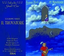 OPD 7045 Verdi-Il Trovatore: Italian-English Libretto (Opera d'Oro Grand Tier)