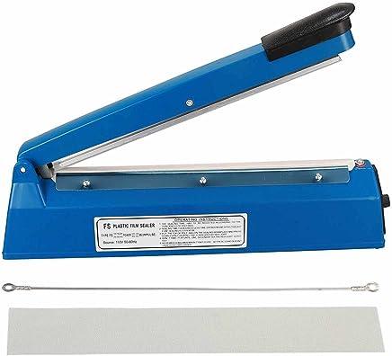 PrimeTrendz Impulse Heat Sealer - Cellophane Bag Sealer (8 Inch)/(12 Inch