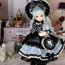 BJD Doll with 3D Eyes 26cm 10inch 1/3 DIY Handmade 12 Ball Jiointed Dolls Clothes Sets Accessories