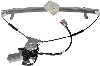 Dorman 741-302 Front Driver Side Power Window Regulator and Motor Assembly for Select Honda Models