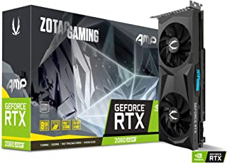 ZOTAC ゾタック GAMING GeForce RTX 2060 SUPER AMP グラフィックスボード VD7005 ZT-T20610D-10P