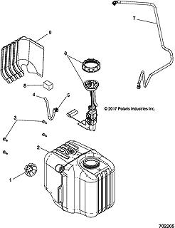 Polaris Gas Tank Cap, Genuine OEM Part 5439075, Qty 1